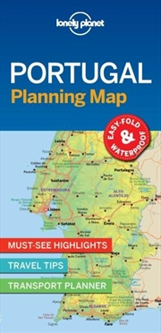 Lonely Planet - Portugal Planning Map
