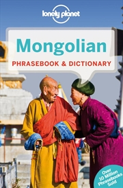 Lonely Planet - Mongolian Phrasebook And Dictionary