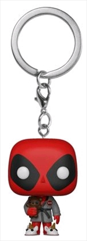 Deadpool Bedtime US Exclusive Pocket Pop! Keychain
