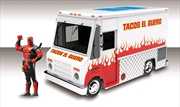 Food Truck Hollywood Rides 1:24 Scale Diecast Vehicle