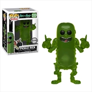 Pickle Rick Translucent