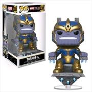 Thanos On Throne: Deluxe