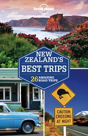 Lonely Planet - New Zealands Best Trips | Paperback Book