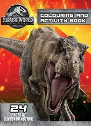 Jurassic World: Fallen Kingdom Colouring and Activity Book | Paperback Book