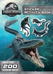 Jurassic World: Fallen Kingdom Sticker Activity Book | Paperback Book