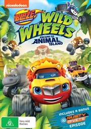 Blaze And The Monster Machines - Wild Wheels Escape To Animal Island | DVD