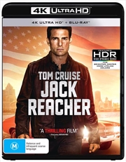 Jack Reacher | Blu-ray + UHD
