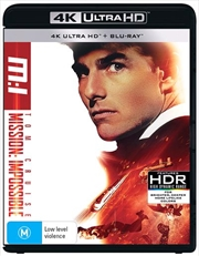 Mission Impossible | Blu-ray + UHD