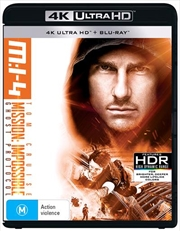 Mission Impossible - Ghost Protocol | Blu-ray + UHD