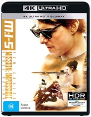 Mission Impossible - Rogue Nation | Blu-ray + UHD