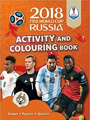 2018 Fifa World Cup Russia: Activity & Colouring Book | Paperback Book