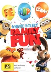 Despicable Me / Dr. Seuss' The Lorax / Hop | DVD