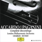 Accardo Plays Paganini Complete Recordings   CD