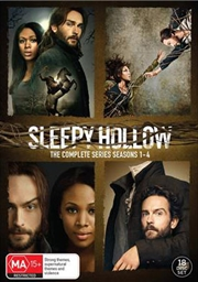 Sleepy Hollow - Season 1-4 | Boxset