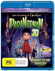 Paranorman | 3D + 2D Blu-ray + UV