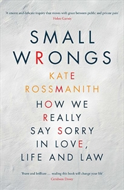 Small Wrongs | Paperback Book