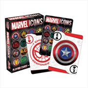 Marvel - Icons Playing Cards