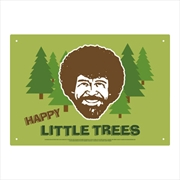 Bob Ross - Happy Trees Tin Sign | Accessories