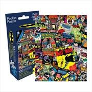 DC Comics - Batman Retro Collage 100pcs Pocket Puzzle