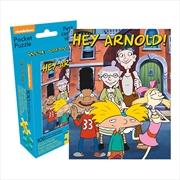 Nickelodeon - Hey Arnold 100pcs Pocket Puzzle