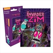 Nickelodeon - Invader Zim 100pc Pocket Puzzle