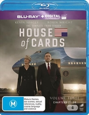 House Of Cards - Season 3 | Blu-ray