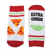 Happy Feet Socks - Extra Cheese | BABY | TODDLER
