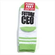 Happy Feet Socks - Future CEO | BABY | TODDLER