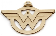 Incredibuilds Emblematics DC Comics Wonder Woman Logo | Merchandise