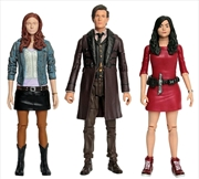 Doctor Who - Eleventh Doctor, Amy Pond & Oswin Action Figure 3-pack