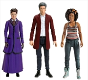 Doctor Who - Twelfth Doctor, Bill Potts & Missy Action Figure 3-pack