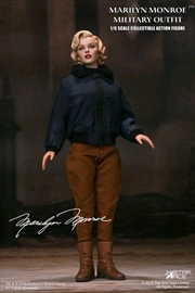 """Marilyn Monroe - Military Outfit 12"""" 1:6 Scale Action Figure"""