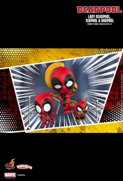 Deadpool - Lady Deadpool, Kidpool & Dogpool Cosbaby Set