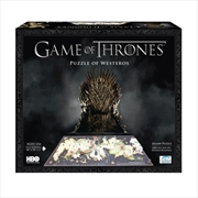 Game of Thrones Westeros 4D Puzzle