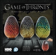 Game of Thrones 3D Puzzle Dragon Egg - Single