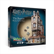 Harry Potter: 3D Puzzle: The Burrow | Merchandise