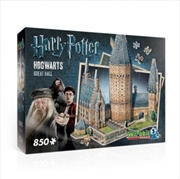 Harry Potter: 3D Puzzle: Hogwarts Great Hall