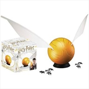 Harry Potter: 3D Puzzle: Golden Snitch 6"