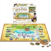 Harry Potter - 4D Large Puzzle - The Wizarding World