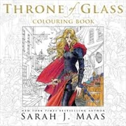 Throne of Glass Colouring Book | Paperback Book