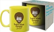 Bob Ross Crazy 11oz Mug