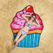 BigMouth Gigantic Cupcake Beach Blanket | Miscellaneous