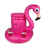 BigMouth Floating Flamingo Beverage Cooler   Miscellaneous