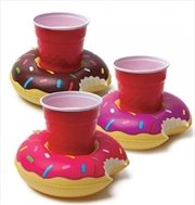 BigMouth Pool Party Beverage Boats (Donuts) | Miscellaneous