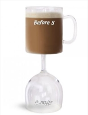 BigMouth Before & After 5 Coffee & Wine Glass