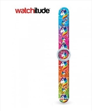 Watchitude #432 – Rainbow Unicorns Slap Watch
