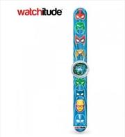 Watchitude #416 – Superhero Slap Watch | Apparel