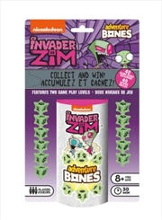 Nickelodeon – Invader Zim Adventure Bones Dice Game | Merchandise