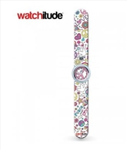Watchitude #368 – Flower Power Slap Watch | Apparel