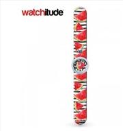 Watchitude #348 – Watermelon Slap Watch | Apparel